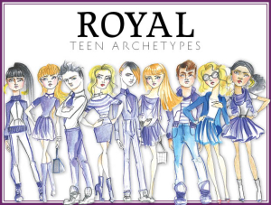 Royal Teen Archetypes