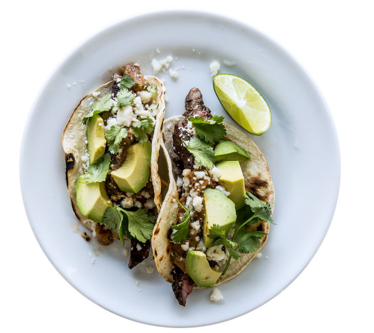 Tecate Skirt-Steak Tacos - Archetypes