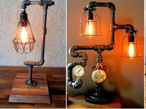 Perfect 16 Sculptural Industrial DIY Pipe Lamp Design Ideas Able To Transform Your  Decor